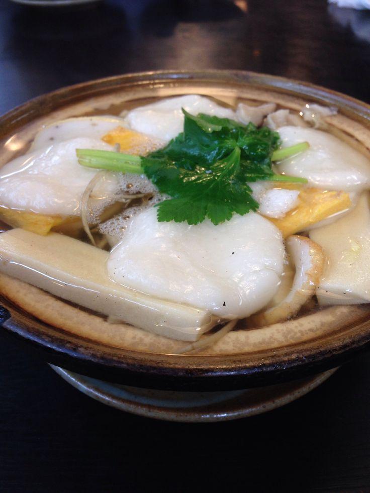 長崎・島原名物「具雑煮」。