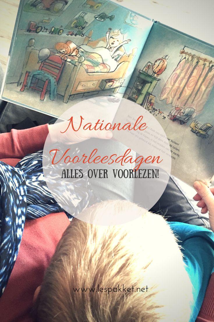 Om je alvast warm te maken voor de Nationale Voorleesdagen >> alles over voorlezen! - Lespakket