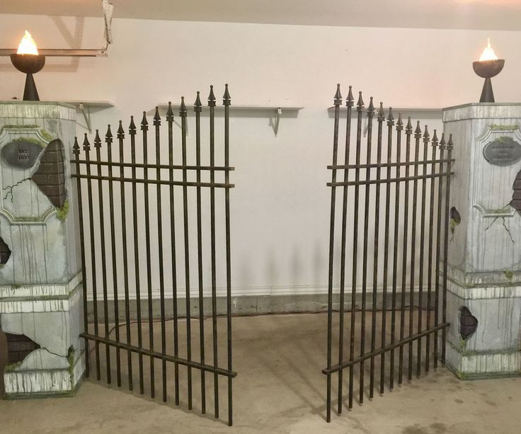 In this Instructable I will show you how I built some pretty convincing Cemetery faux brick/stone pillars and gate for my yard haunt last year. I didn't create the...
