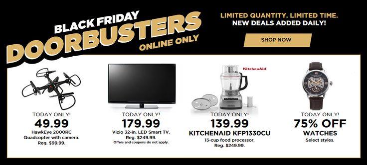 Kohl's Black Friday Sale! Doorbusters - Today Only! - http://www.pinchingyourpennies.com/kohls-black-friday-sale-doorbusters-today-only/ #Blackfriday, #Doorbusters, #Kohls