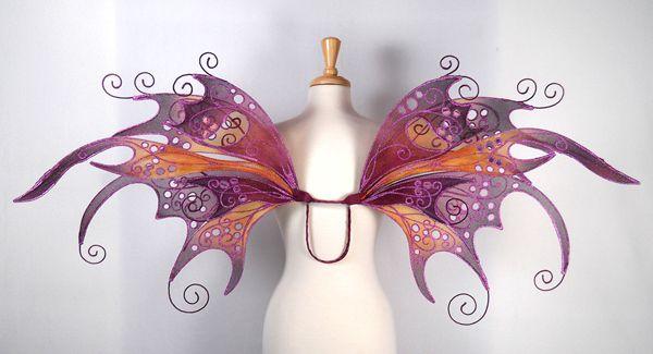 Anastasia fairy wings from On Gossamer Wings www.fairy-wings.com/