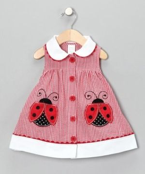 Some days, I wish I had another baby girl to dress in cute lady bug stuff! by Christina Kalintzeou