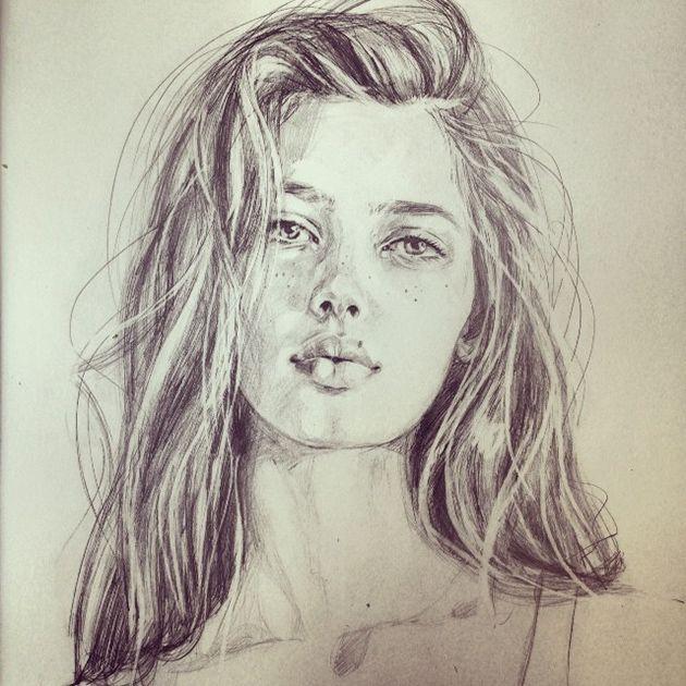 Unglaublich gut: Ein Blick in das Sketchbook von Victoria Jones