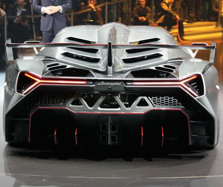 $3.9 Million, 750hp And A Bonafide Crazy Design: Lamborghini Veneno (22  Photos)
