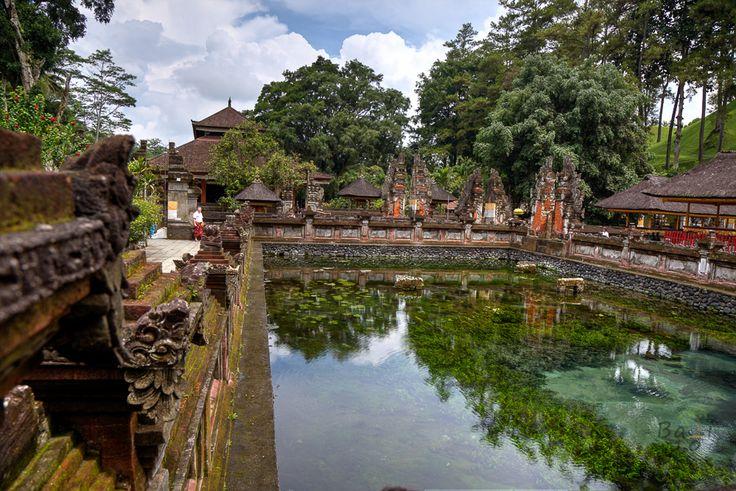 One of many beautiful temples on Bali island - Tirta Empul Temple