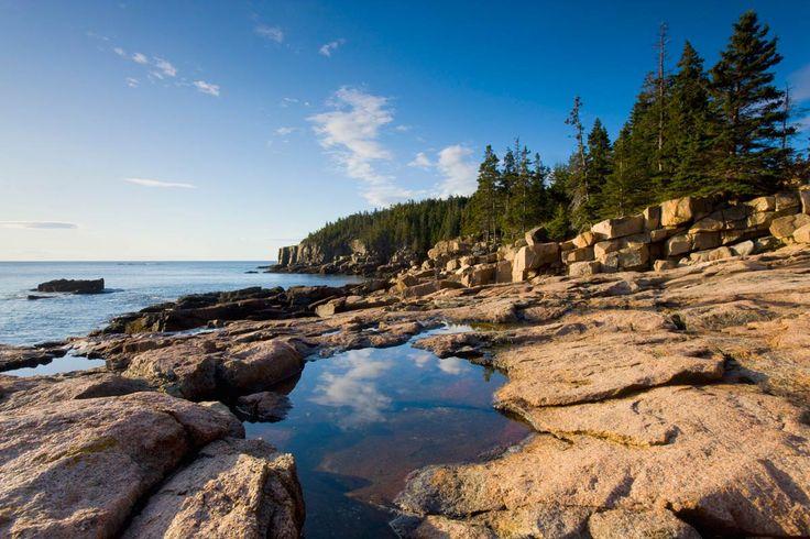 Parque Nacional de Acadia (Maine, Estados Unidos)PISCINAS NATURALES EN LUGARES INSOSPECHADOS