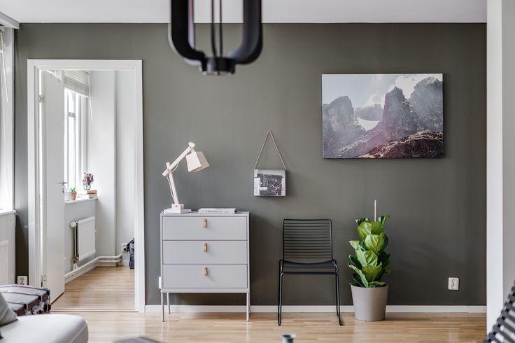 Living room, Andra Långgatan, Gothenburg, Sweden.