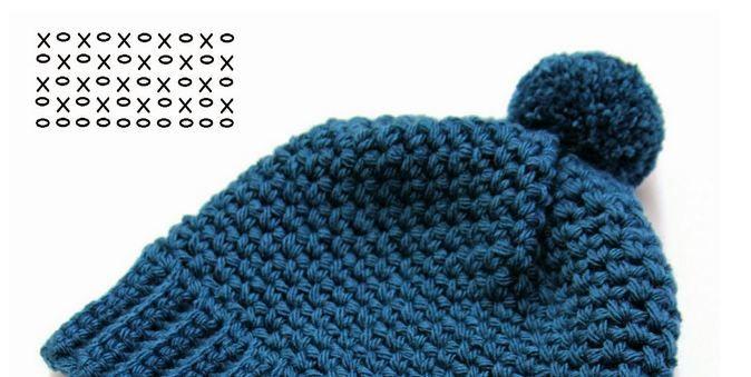 Gorros crochet para tejer en una tarde, verás que son fáciles y quedan bien abrigados.   Vas a necesitar unos 70 g de lana aproximadamente...