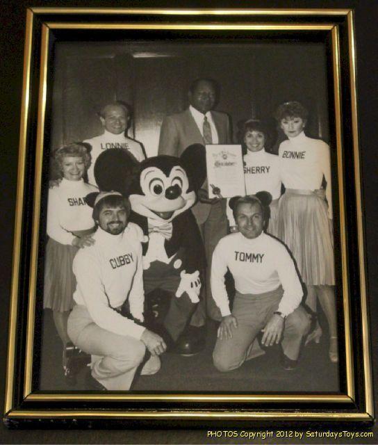 original mouseketeers | 1982 Walt Disney Mickey Mouse Club MOUSEKETEERS Signed Photo Mayor TOM ...