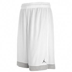 ce4bd6216f8853 Jordan Team Reversible Short - Men s - Basketball - Clothing - White   Gray  XXL