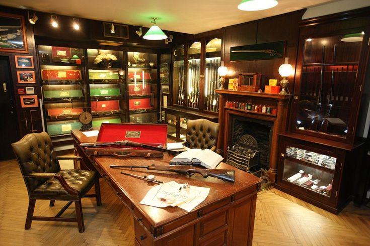 London Gun Room Decor Pinterest English Storage