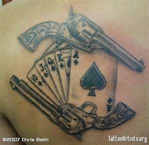 old western gun tattoos reminds me of doc holiday lol very cool