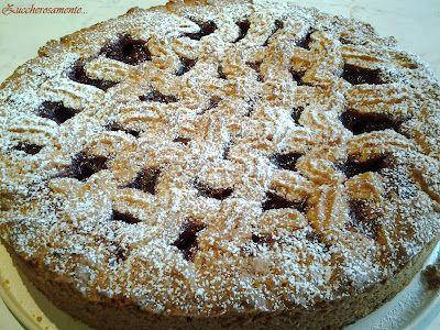 Zuccherosamente...: Linzertorte...una crostata speciale!