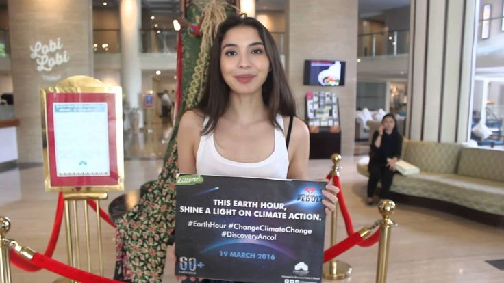 Thank you Ms. Manohara Odelia Pinot for support Earth Hour 2016 at Discovery Hotel & Convention Ancol