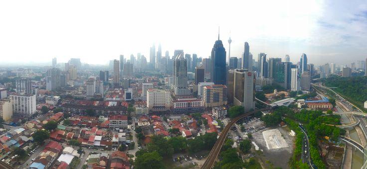 Kuala Lumpur Daytime Skyline