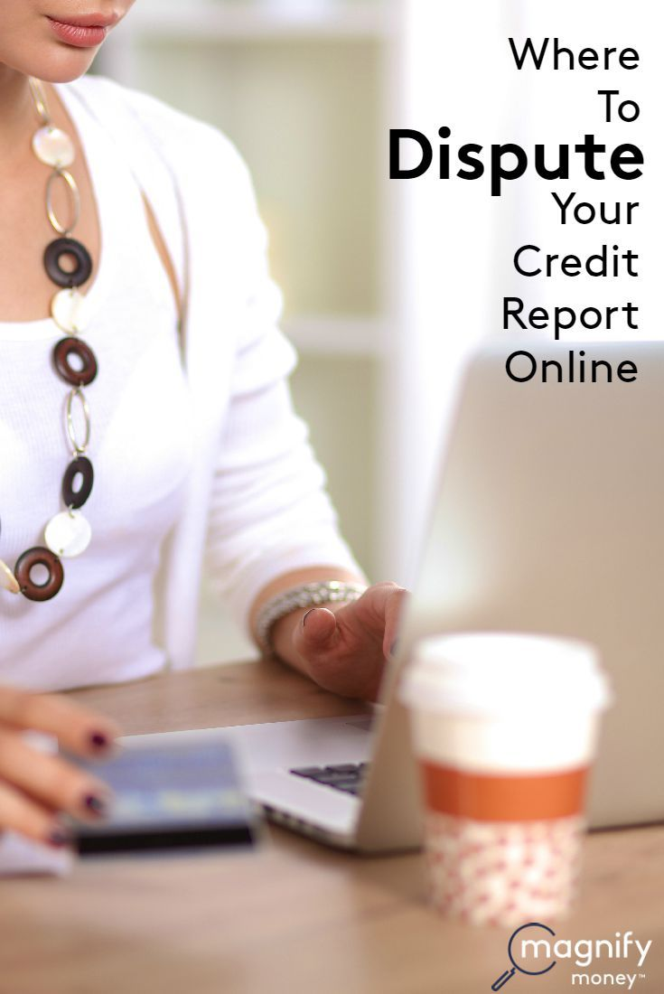 It has never been easier to dispute incorrect information on your credit reports online. You are now able to dispute information to all three credit reporting agencies online. We will provide you with instructions for each reporting agency below. http://www.magnifymoney.com/blog/how-to-complain/dispute-credit-report-online1290777850