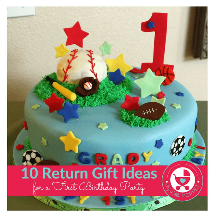 Picking out return gifts for a first birthday can be tricky, but our list of ideas here will help you - without breaking the bank!