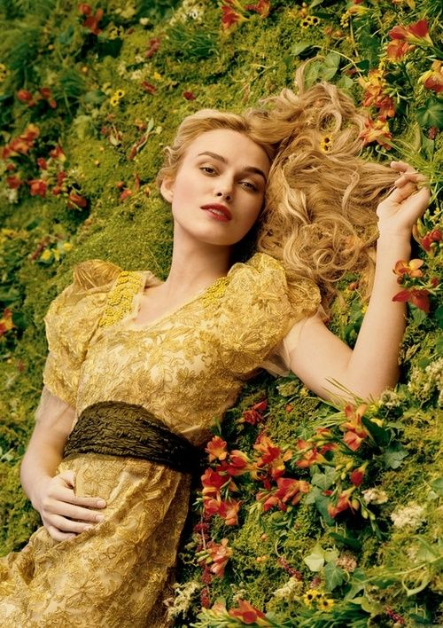 Keira Knightley by Annie Leibovitz - Vogue Special Edition presentation of The Wizard of Oz