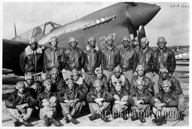Redtails: The Tuskegee Airmen | 1943 Series 3/5 by Black History Album, via Flickr