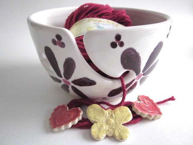 Yarn bowl! Love!
