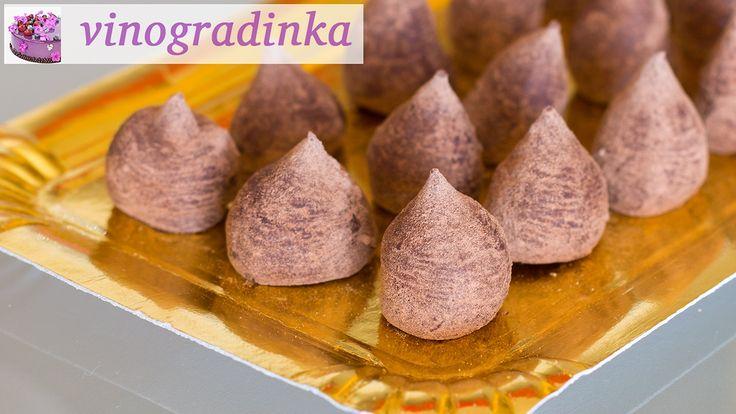Изумительные шоколадные конфеты своими руками за 15 минут   Vinogradinka