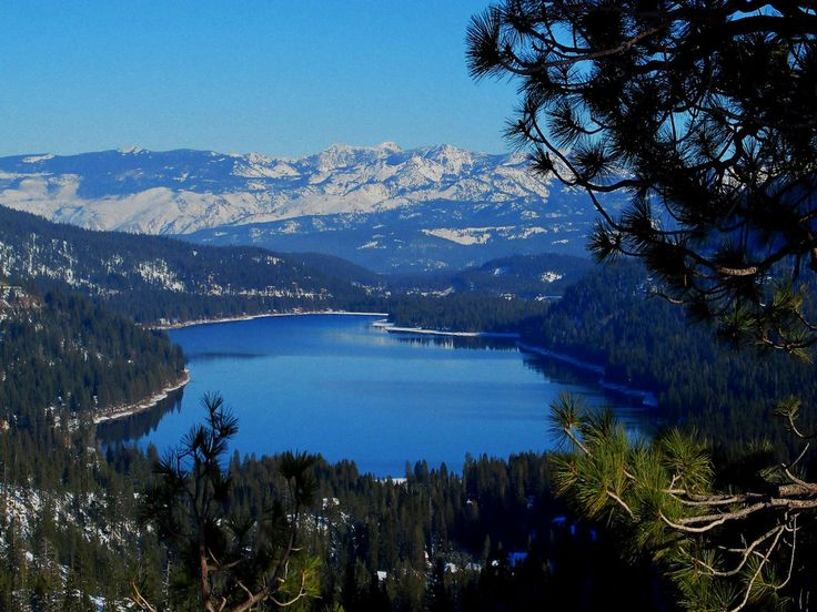 Donner Lake, California ~ our weekend place in high school