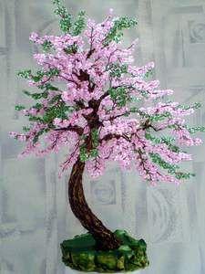 МК по изготовлению дерева Душе отрада | biser.info - всё о бисере и бисерном творчестве