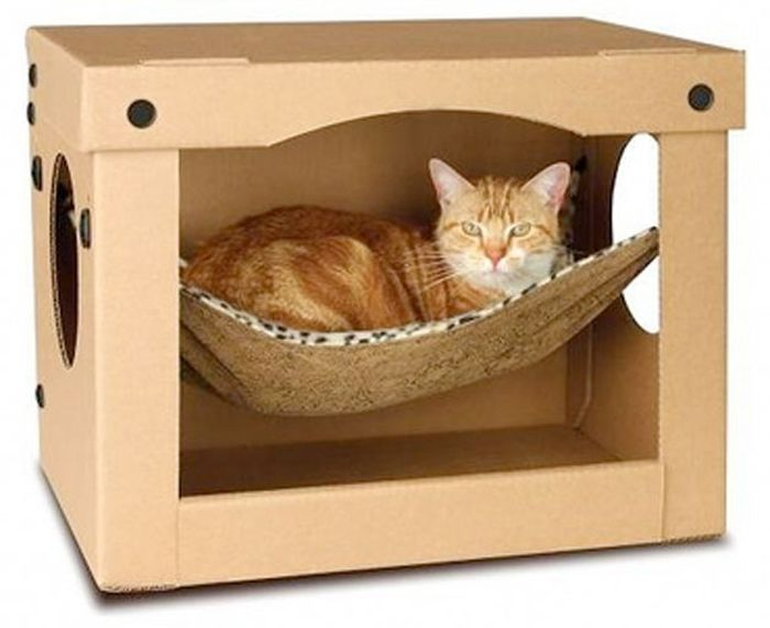 25 Beautiful Creative Cat House Design Ideas 2015 #cathousedesigns  #creativehouseideas #catshome