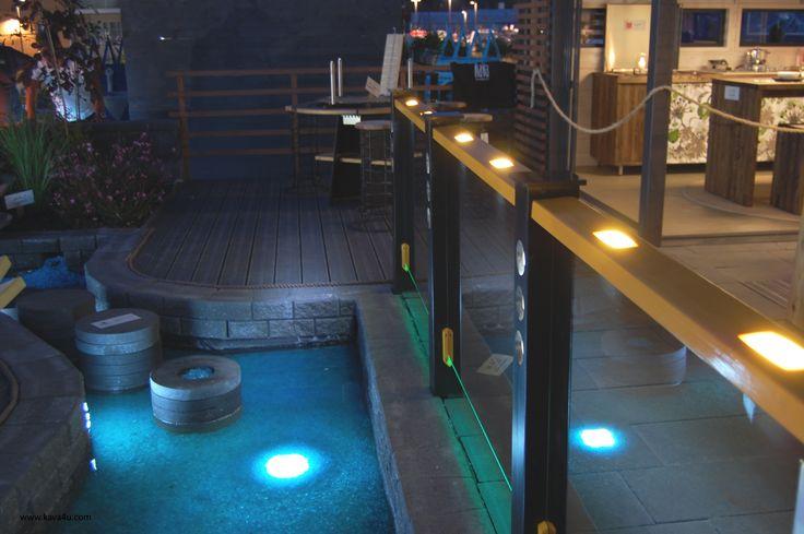 Terrace railing post solution