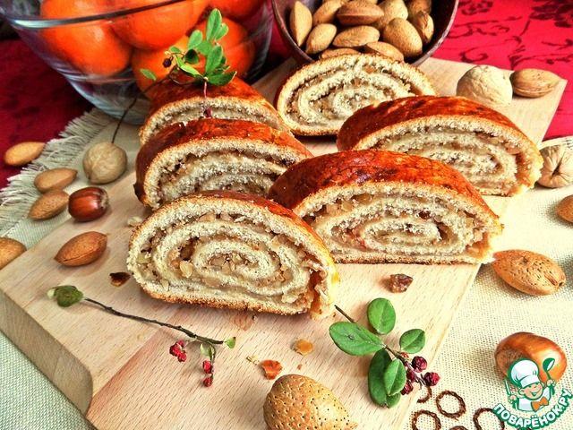 Венгерский рулет с орехами ингредиенты