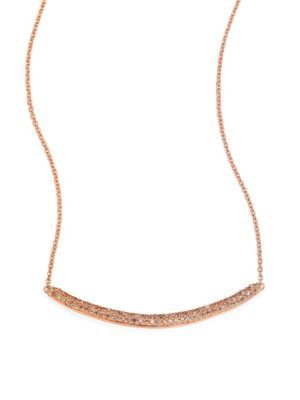 MONICA VINADER Skinny Curve Diamond Necklace. #monicavinader #necklace