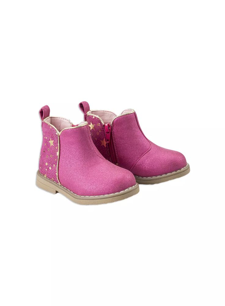 Girls foil ankle boot from Pumpkin Patch girl range. Baton rouge sizes 6 to 2l. Style W6FW50007.