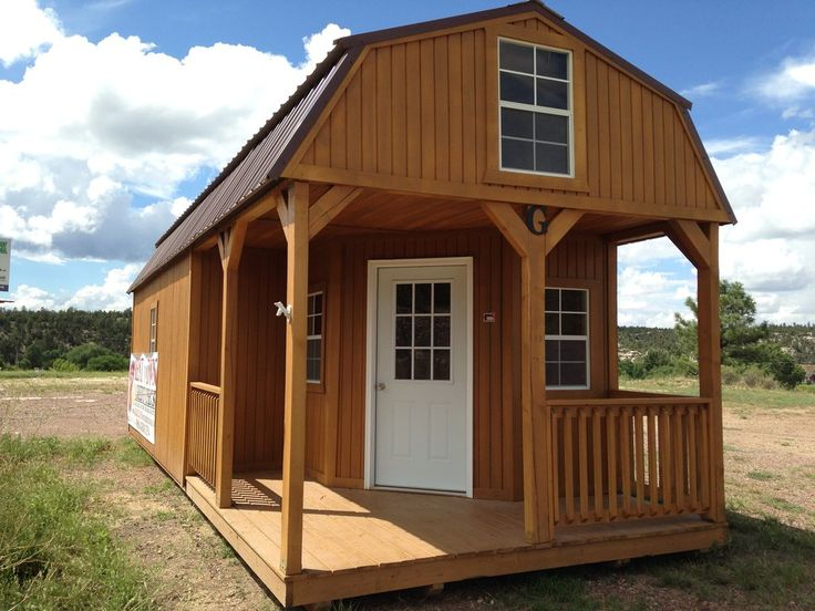 59 best tiny living images on pinterest tiny house for Pre built barn homes