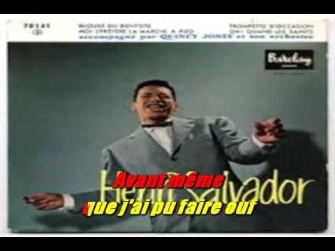 KARAOKE HENRY SALVADOR   Le blues du dentiste  1958 ESPACE KARAOKE 51