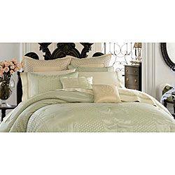 Anthology Eyelet Mint Comforter Set | Overstock.com Shopping - Great Deals on Comforter Sets