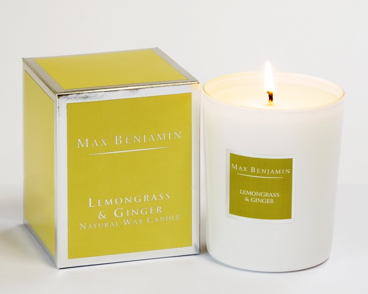 Max Benjamin Candle - Lemon Grass and Ginger