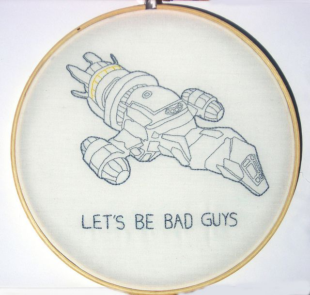 Firefly/Serenity embroidery ideas