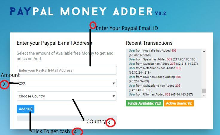 Free paypal cash generator 2018 updated legit paypal