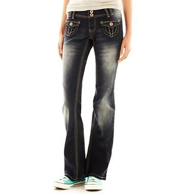 angels bootcut jeans jcpenney my style pinterest. Black Bedroom Furniture Sets. Home Design Ideas