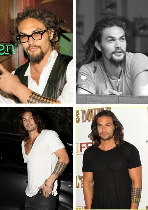 Jason Momoa - he just looks like sex and I really want to have some!!! And by some, I mean, a lot, A LOT, every damn day!!!!