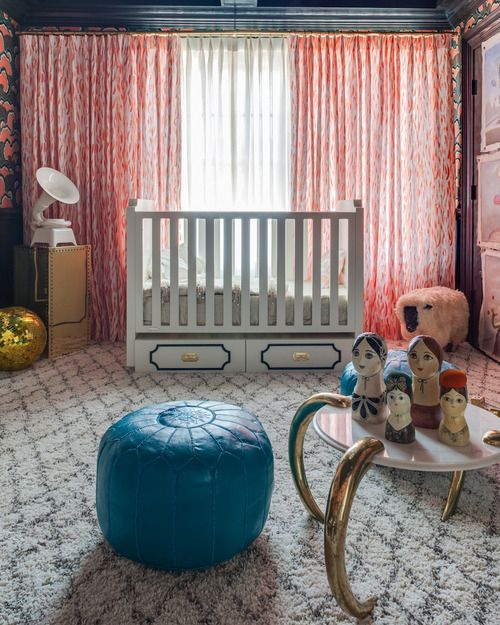 Creative, eclectice nursery design at the Hampton Designer Showhouse