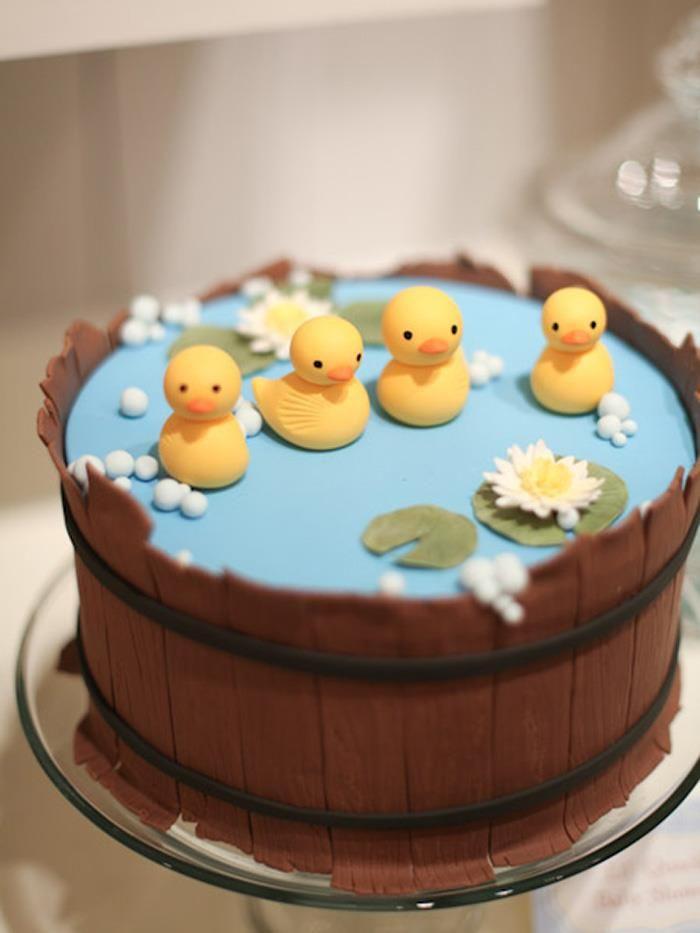 Patitos en un pastel???