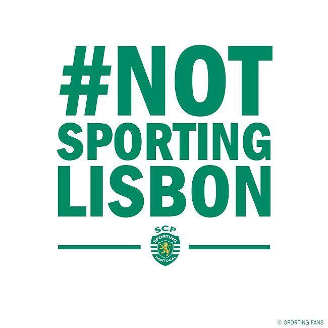 Sporting Clube de Portugal! #NotSportingLisbon