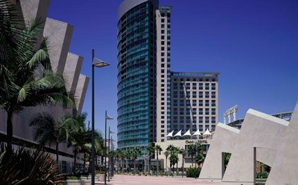 My favorite SoCal escape. Omni San Diego Hotel connected to PETCO Park! #hotels #vacation