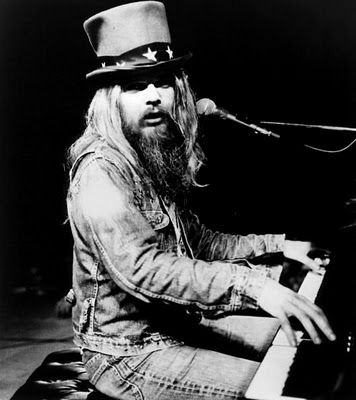 Leon Russell (love him, met him, got his autograph!..He was having to use a cane by then,   awesome show)
