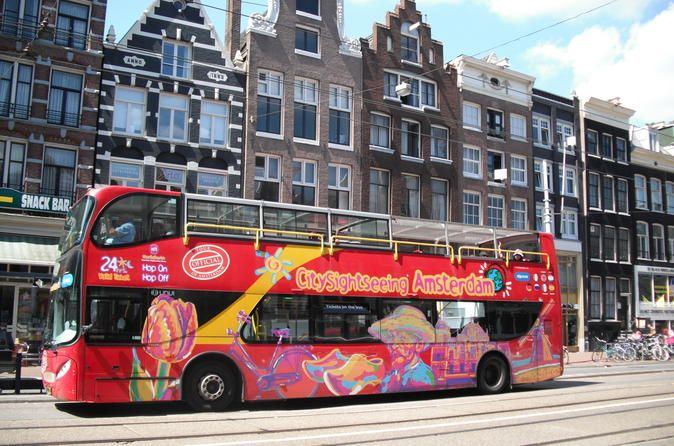 City Sightseeing Amsterdam Hop On Hop Off Tour With Boat Option In