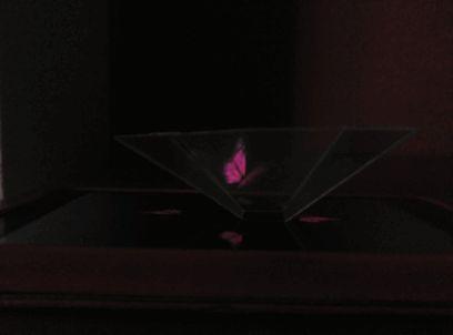 Holograma Casero, Pirámide Holográfica Holaaa, hoy que tenía a los niños aburridos, hemos pensado en utilizar la tecnología para experimentar y divertirse, y hemos hecho una pirámide con la que pod…