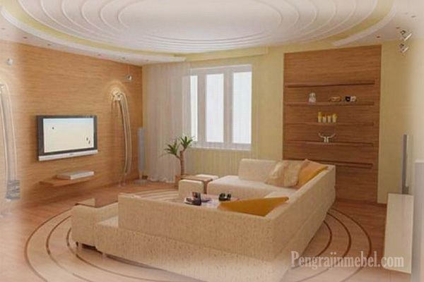 sofa cantik untuk ruang keluarga