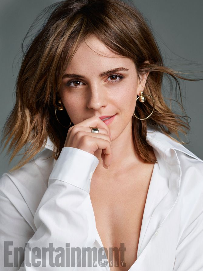 Emma Watson by Kerry Hallihan for Entertainment Weekly March 2017