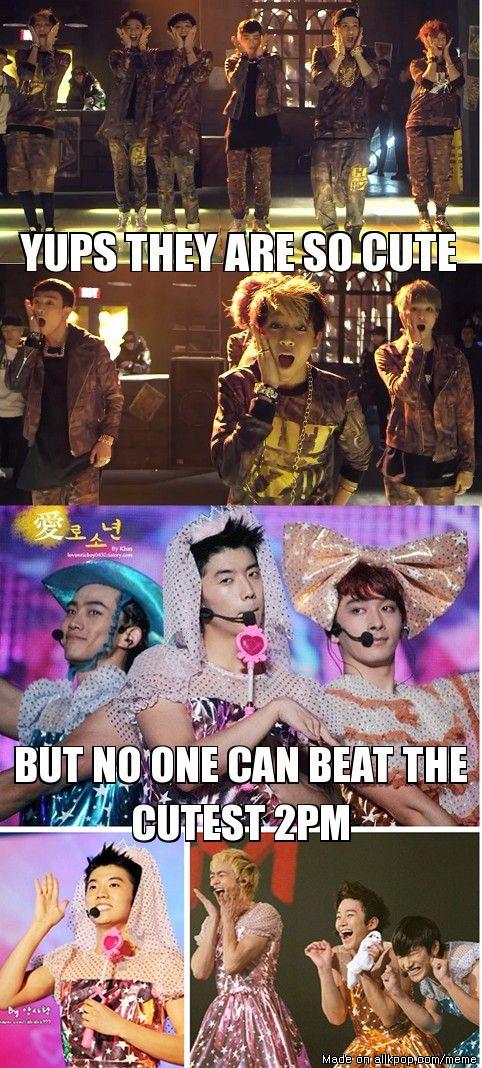 2PM Cuteness vs new GOT7